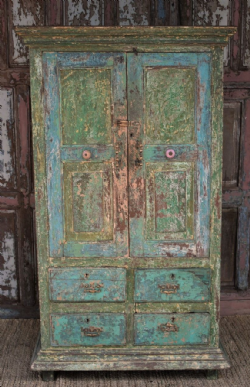 Antique Colonial Almirah Cupboard<b>SOLD<b>